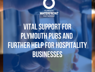 Vital support for Plymouth pubs and further help for hospitality businesses