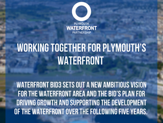 Working together for Plymouth's Waterfront - Support from Plymouth City Council for PWP BID 3