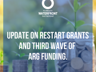 Update on Restart Grants and the 3rd wave of ARG funding