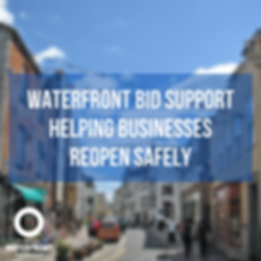 Waterfront BID Support Helping Business