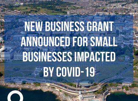 New business grant announced for small businesses impacted by COVID-19