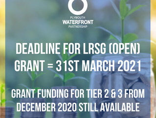 Grant funding for Tier 2 & 3 from December 2020 still available