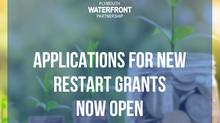 Applications for new restart grants now open