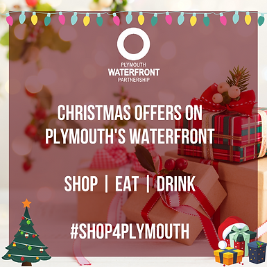Christmas Offers on Plymouth's Waterfron