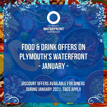 Plymouth Waterfront Food and Drink Jan 2