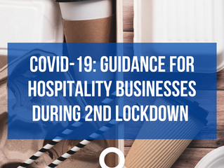 Covid-19: Guidance for hospitality businesses during second lockdown period