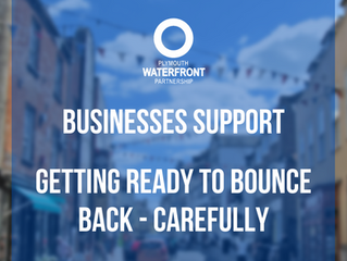 Waterfront Businesses, getting ready to bounce back - carefully