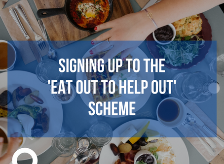 Signing up to the 'Eat Out to Help Out' Scheme