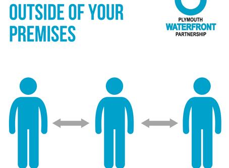 Managing queues outside your premises