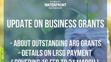 Update on Business Grants - Outstanding ARG and Upcoming LRSG (Feb 16th - March 31st)