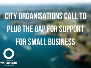 City organisations call to plug the gap for support for small business