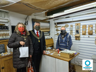 Visit by Lord Mayor and Mayoress of Plymouth to the Waterfront