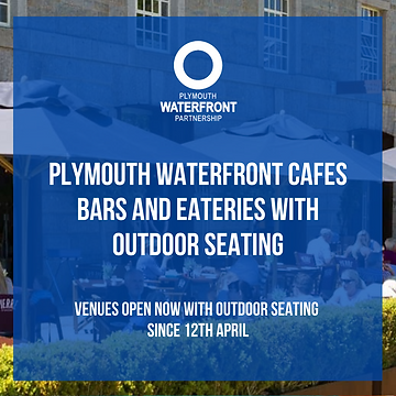 Plymouth Waterfront Outdoor Seating 2021