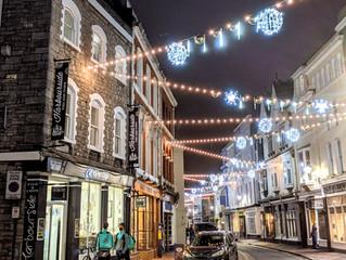 Barbican Christmas Lights 2020