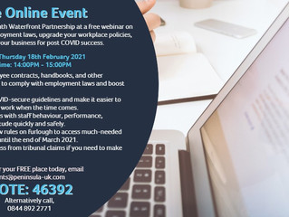 Free Online Event: Preparing your business for post-COVID success with PWP