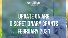 UPDATE on the ARG discretionary grants - February 2021