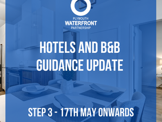Hotels & B&B Guidance Update - Step 3, 17th May 2021