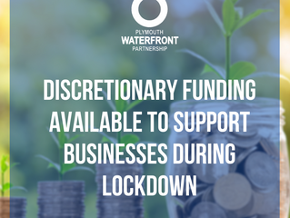 Discretionary funding available to support businesses during lockdown