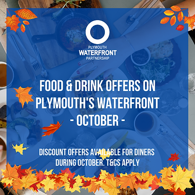 Food and Drink Offers Plymouth Waterfron