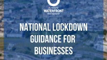 National lockdown - guidance for businesses
