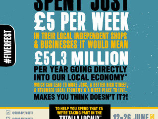Waterfront Independent Businesses Invited to join in Totally Locally - FIVER FEST