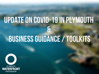 Update on Covid-19 in Plymouth & Business Guidance, Toolkits