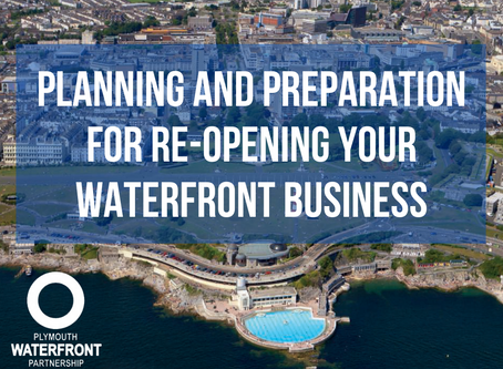 Planning and preparation for re-opening your Waterfront business