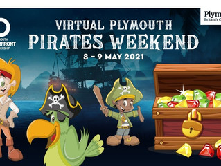 Ahoy me'hearties – enjoy pirate themed fun this weekend!