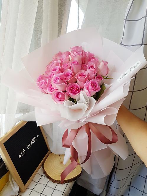 Eternal Love (33 Pink Roses)
