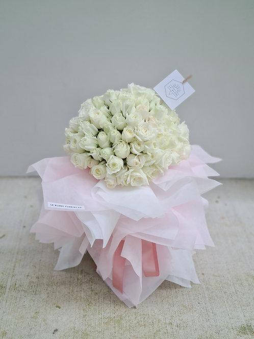 True Love (99 White Roses)