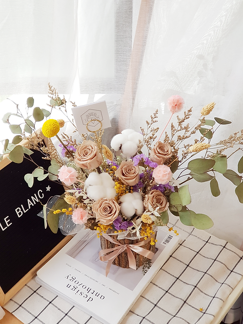 Pastel Table Top Flower