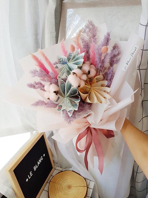 Purple Money Flower Bouquet