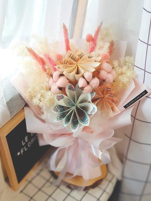 Money Flower Bouquet