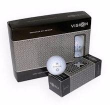 VISION GOLF PRO TOUR-X BLUE (OPTIC WHITE) GOLF BALLS