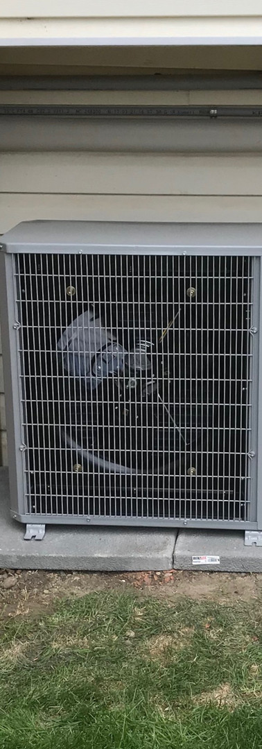 Carrier Air Conditioner Installed