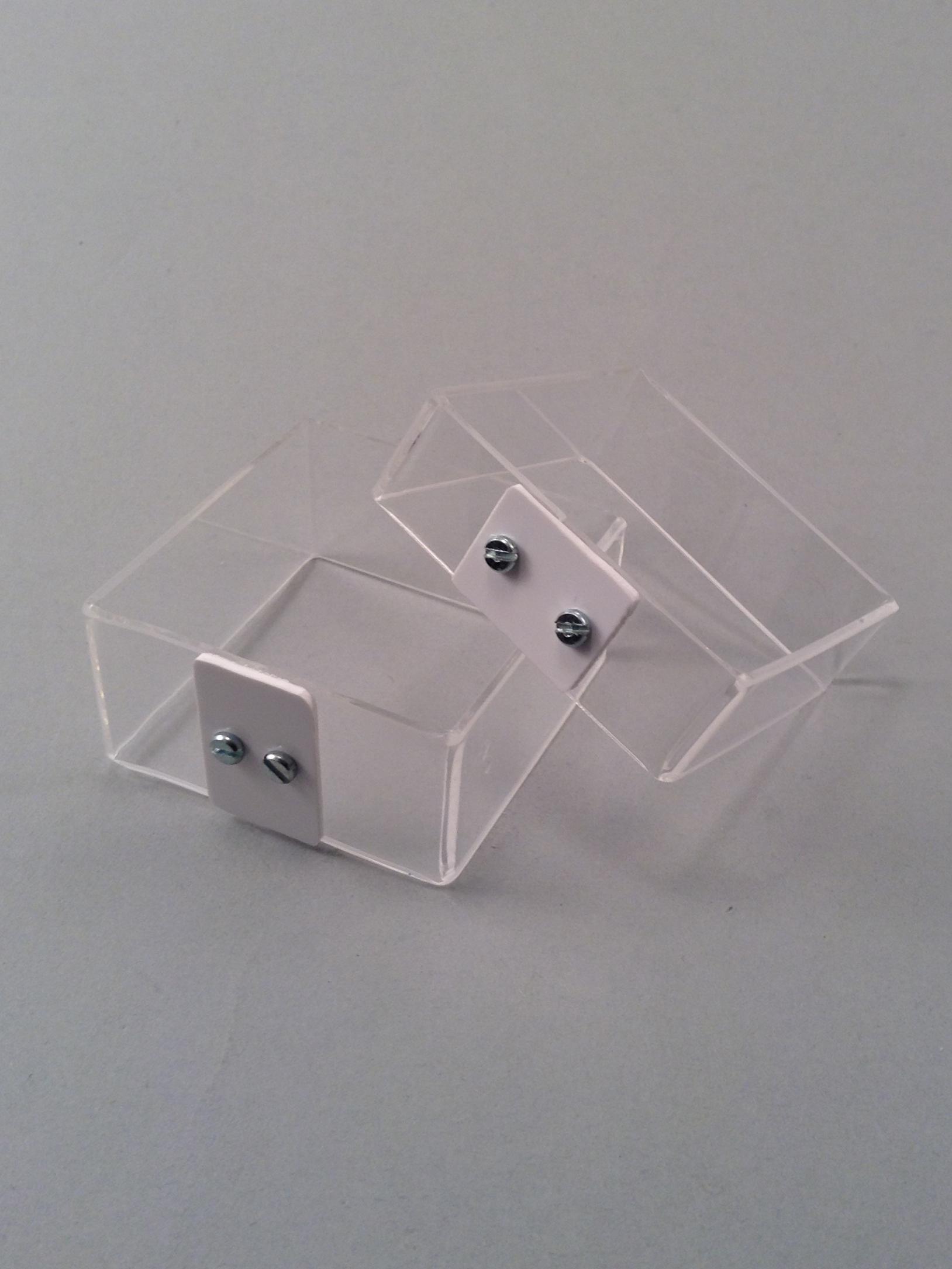 Double squaretrans bracelets