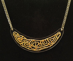 Goldsil necklace