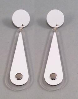 Whitear earrings
