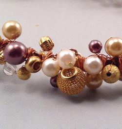 Goldauve hairband- details