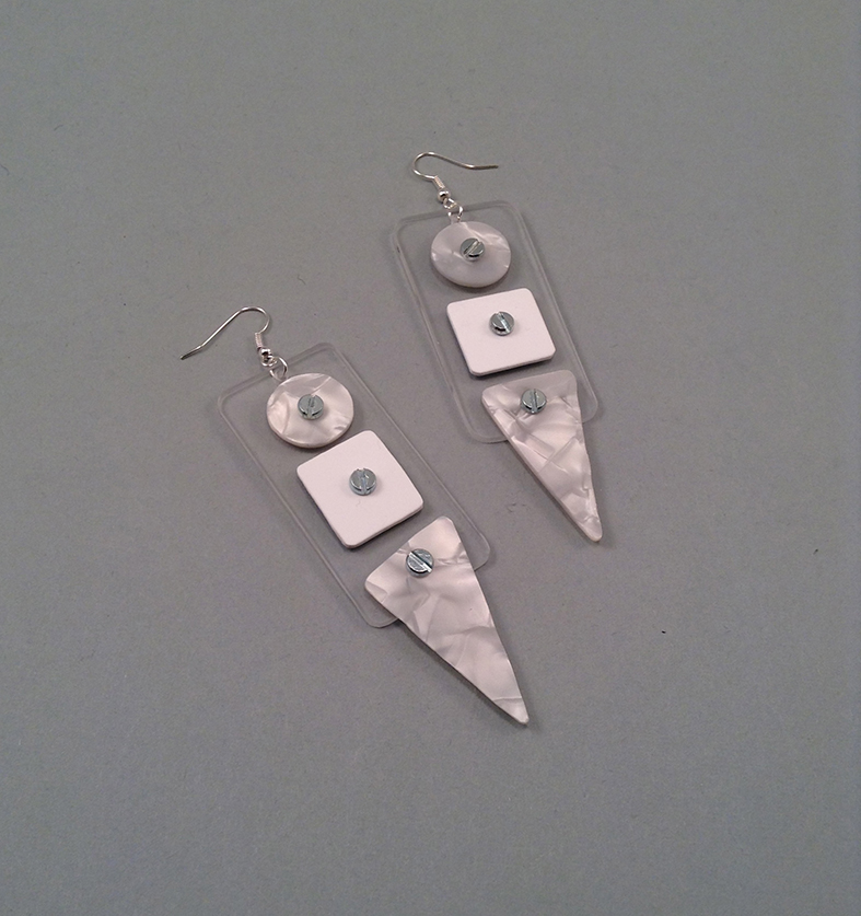 Nacredit earrings