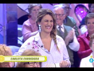 Sálvame diario - Carlota Corredera. Telecinco.