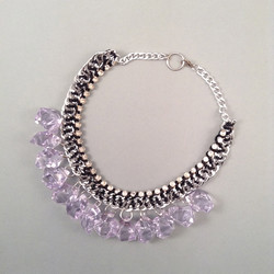 Mauve Ice necklace