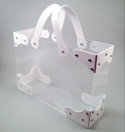 Milk white bag