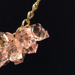 Pinkice necklace - details