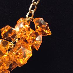 Oranice necklace - details