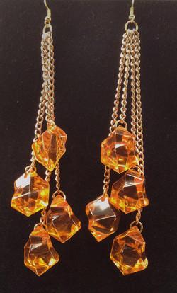 Oranice earrings