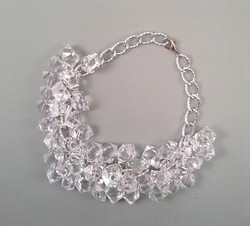 Silver Ice necklace