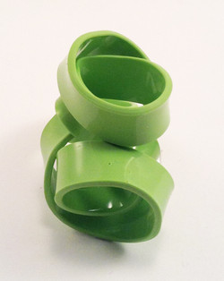 greendouble ring