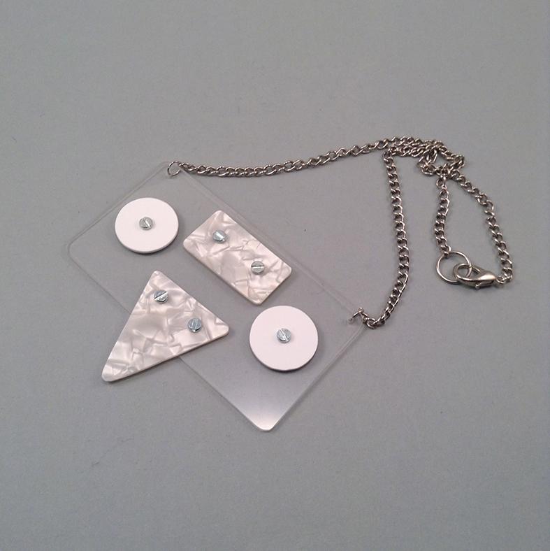 Nacreduck necklace
