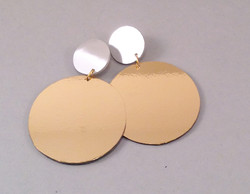 Golcircle earrings